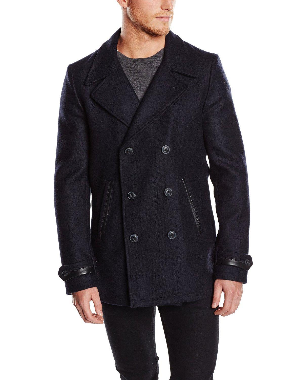 Caban en drap de laine  chevignon (Taille L ou XL)