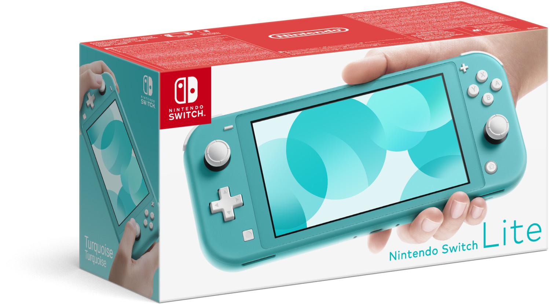 Console portable Nintendo Switch Lite - gris, jaune ou turquoise (via 50€ sur la carte de fidélité)