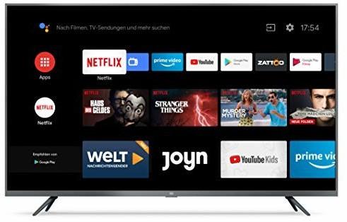 "TV 43"" Xiaomi Mi TV 4S - 4K UHD, LED, Smart TV (entrepôt Espagne)"