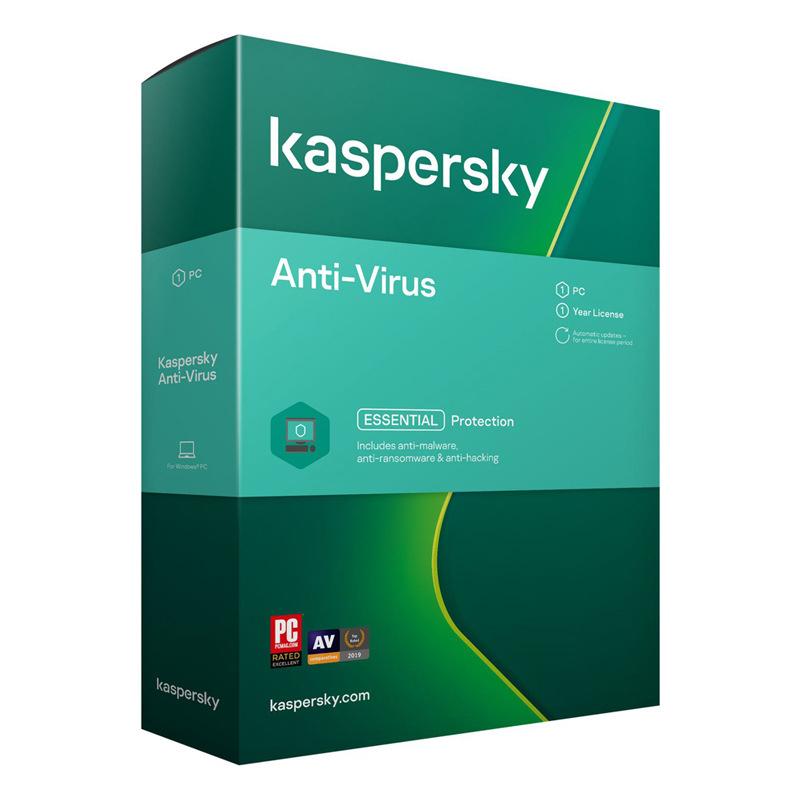 Logiciel anti-virus Kaspersky Essential Protection - licence d'un an, 1 poste (dématérialisé)