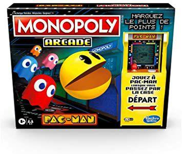Jeu de Société Monopoly Arcade Pac-Man