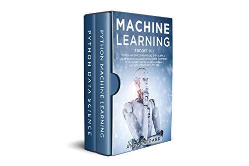 Livre numérique e-book Machine Learning - 2 Books in 1 Python (Kindle, en anglais)