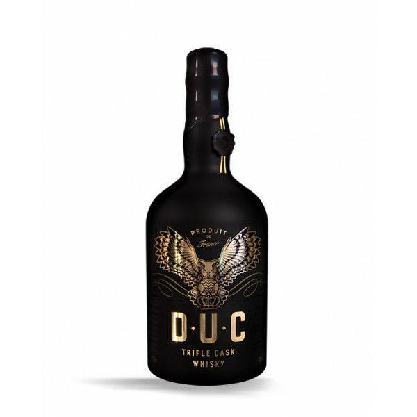 Bouteille de Whisky D.U.C Triple Cask Blended Whisky - 70cl, 40%vol, Auchan Nantes St-Sébastien (44)