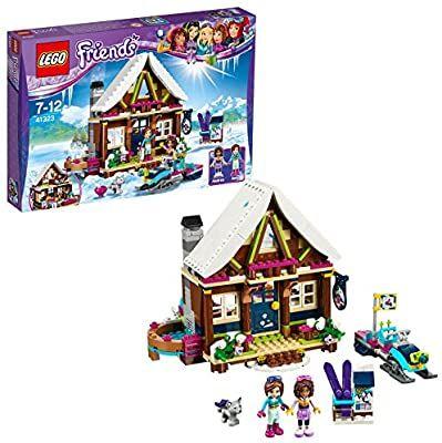 Jeu de Construction Lego Friends 41323 - Le chalet du village d'hiver