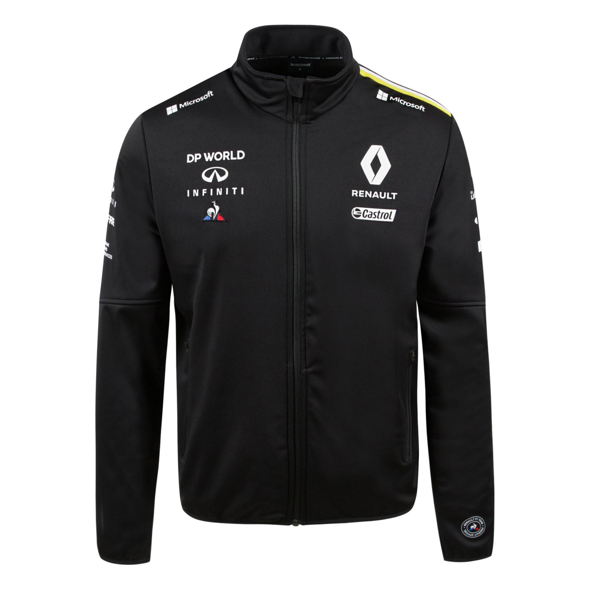 Sélection de produits Le Coq Sportif Renault en promotion - Ex: Veste Softshell - coupe regular, noir