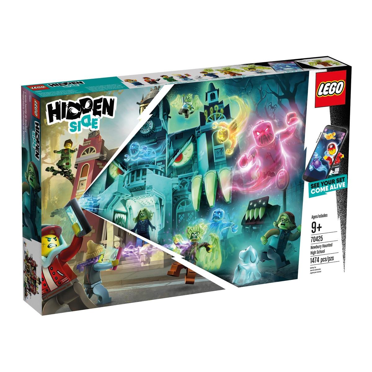 Jeu de construction Lego Hidden Side - L'école hantée de Newbury (70425)