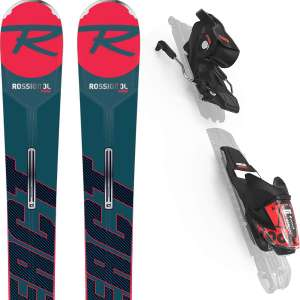 Pack Ski Rossignol React R6 Compact (2020) + fixation Look XPress 11 GW B83 (Plusieurs tailles)