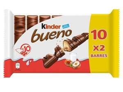 Paquet de 10 Kinder Bueno (10 x 2 barres)