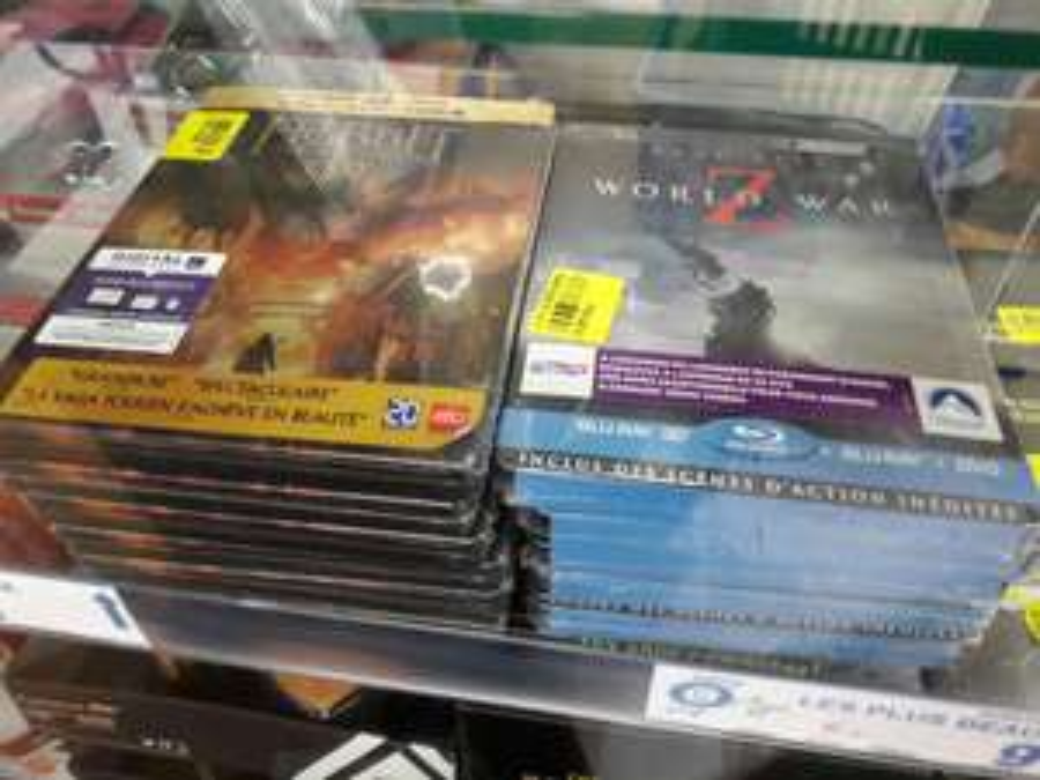 Blu-Ray Edition Steelbook 3D - World War Z ou Le Hobbit, La bataille des cinq armées