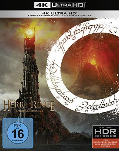 Coffret Blu-Ray 4K Le Seigneur des Anneaux