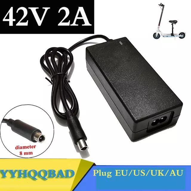 Chargeur YYHQQBAD 42V 2A pour trottinette électrique Xiaomi M365/M365 Pro, Ninebot ES1/ES2