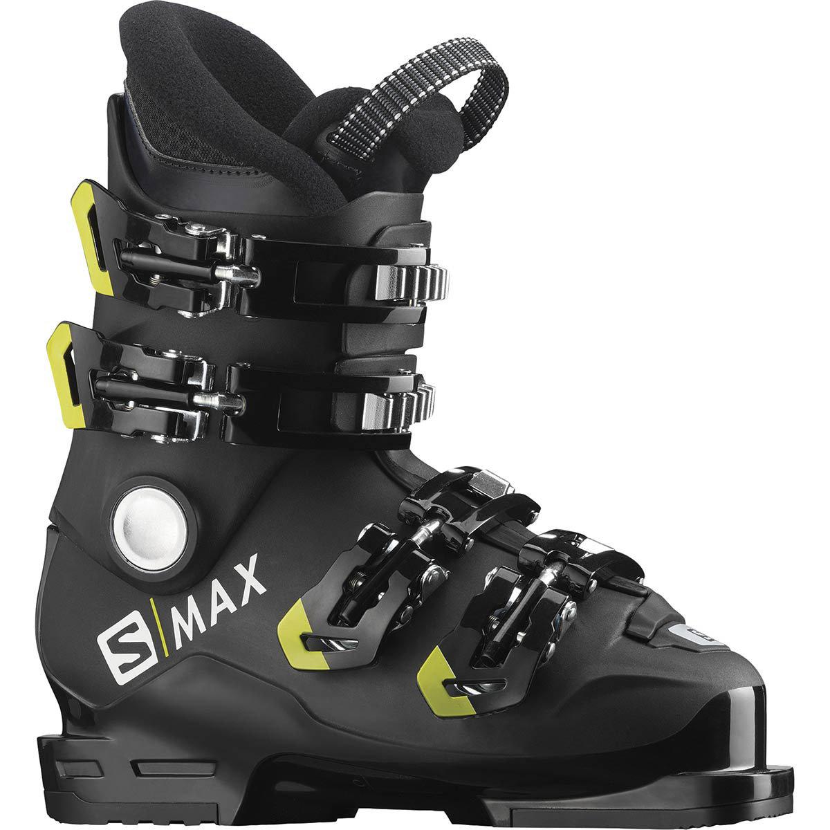 Chaussure de ski enfant Salomon S/Max 60T M Black/Acid Green 2020 (plusieurs tailles)