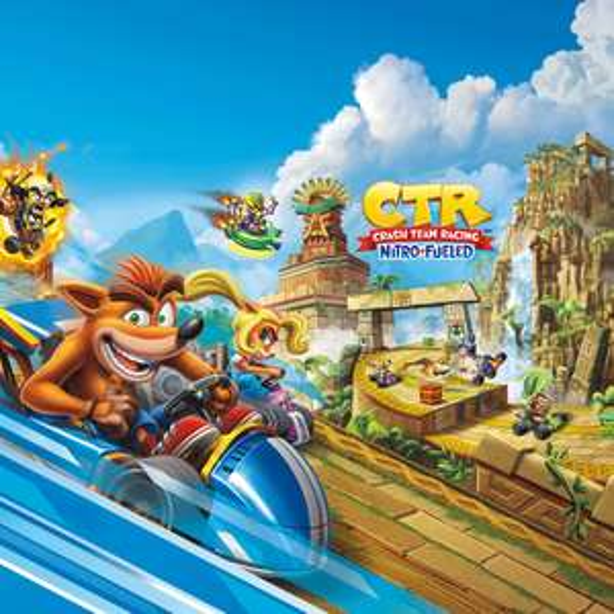 Sélection de jeux vidéo sur Switch en promotion (dématérialisés, store RU) - Ex : Crash Team Racing: Nitro-Fueled