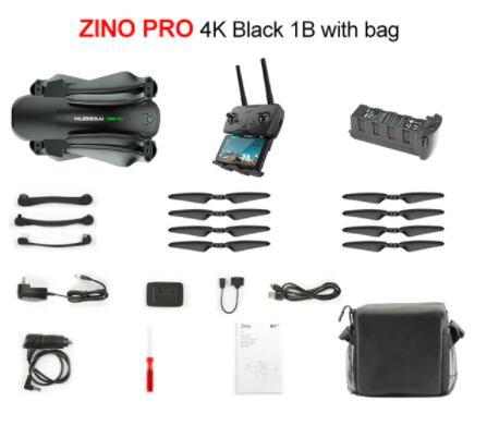 Drone pliable Hubsan Zino Pro + Sac (Entrepôt Espagne)