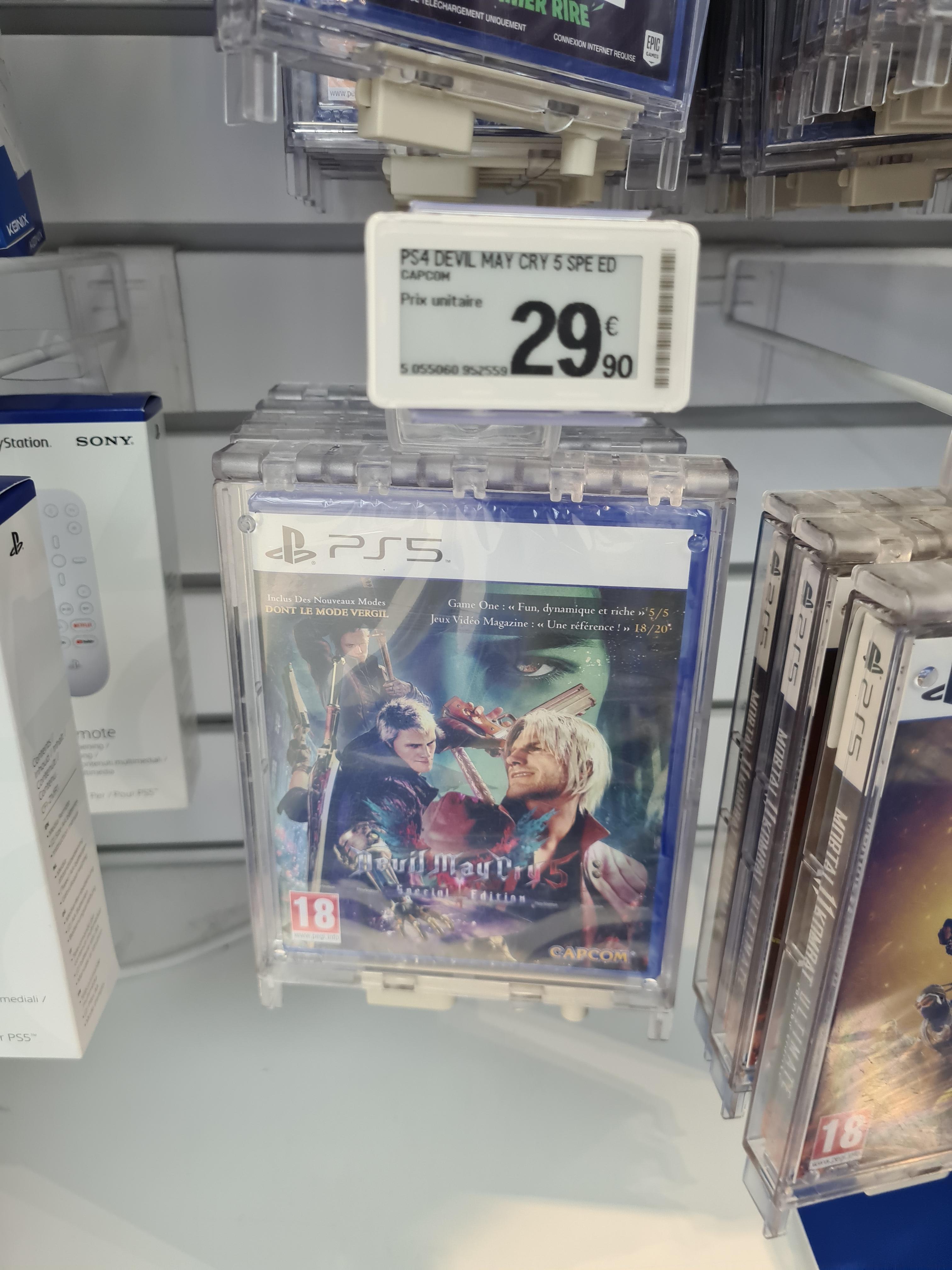 Devil May Cry 5 Special Edition sur PS5 - Nantes Atlantis (44)