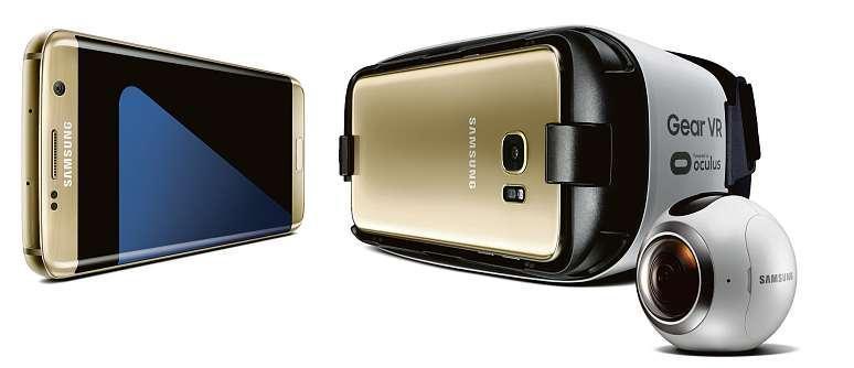 [100 Premiers Acheteurs] Pour l'achat d'un smartphone Samsung Galaxy S7 / S7 edge - 1 casque Gear VR et 1 caméra Gear 360 offerts
