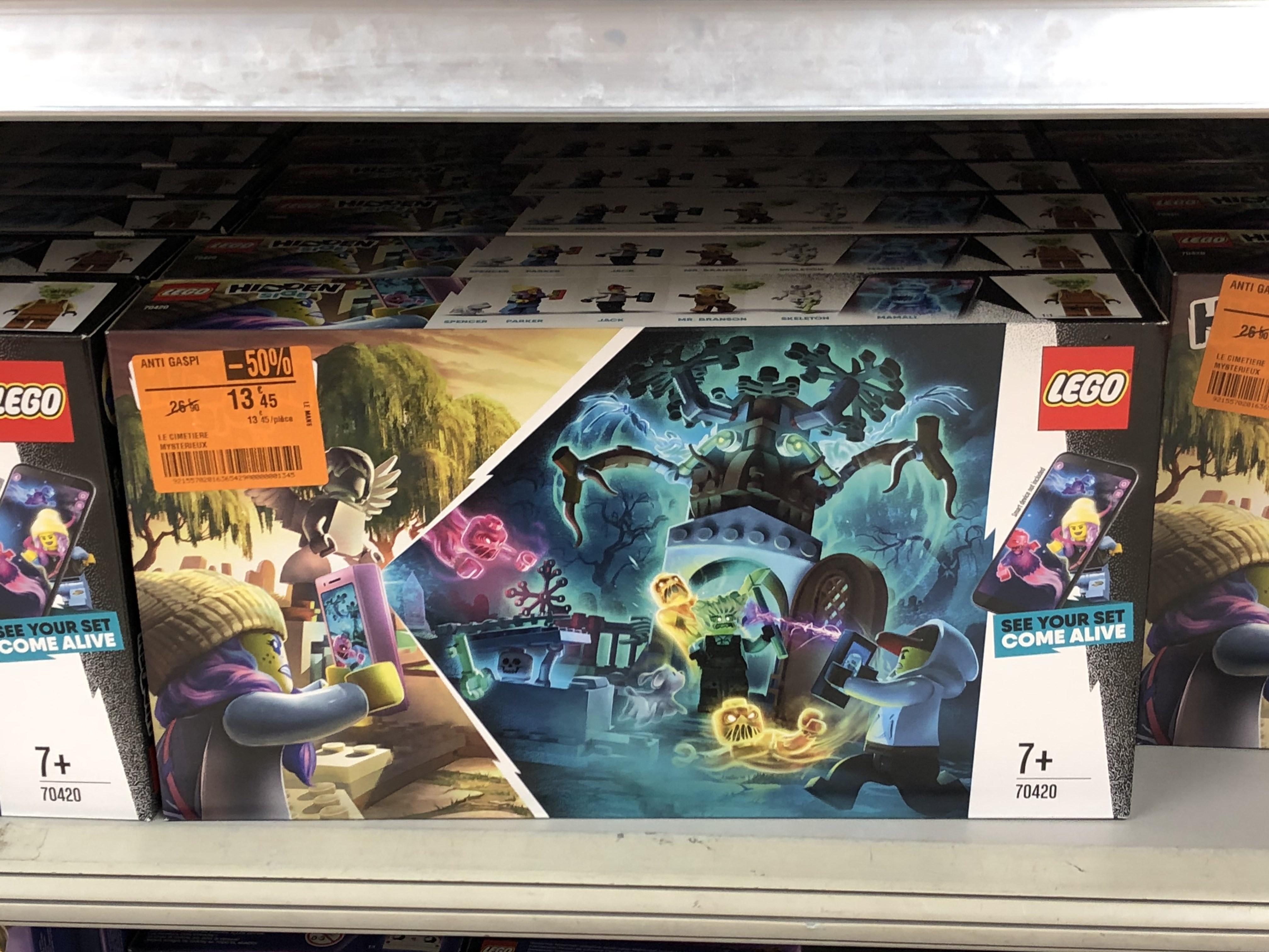 Lego Hidden Side 70420 - Le cimetière mystérieux - Le Mans (72)
