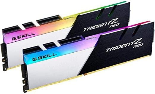 Kit mémoire Ram DDR4 G.Skill Trident Z Neo 16 Go (2x 8 Go) - 3600 MHz, CL16