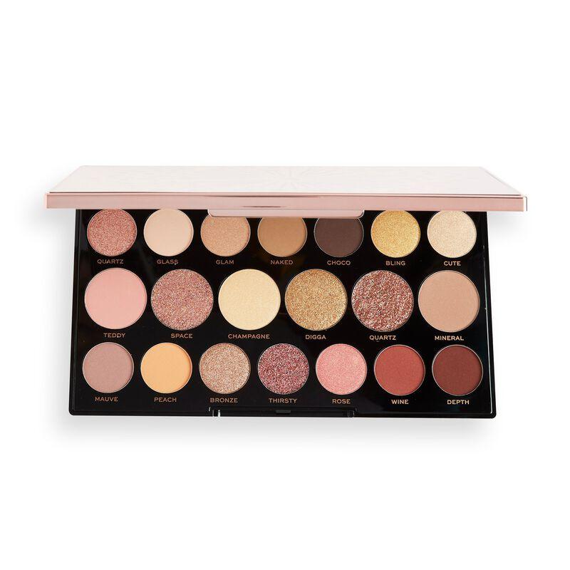 Palette maquillage Makeup Revolution Precious Glamour MegaStar Eyeshadow - Diamond Edition (revolutionbeauty.com)
