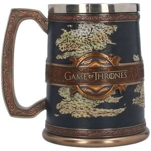 Selection de Chope Game of Thrones en promotion. Exemple: chope des 7 royaumes