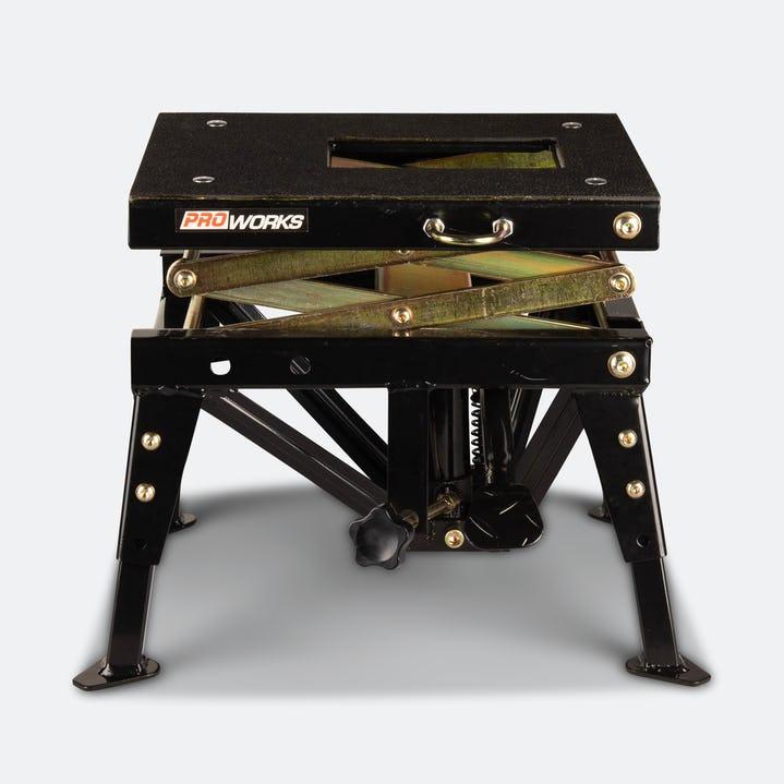 Lève moto hydraulique Proworks - 31-82 cm, jusqu'à 160 kg
