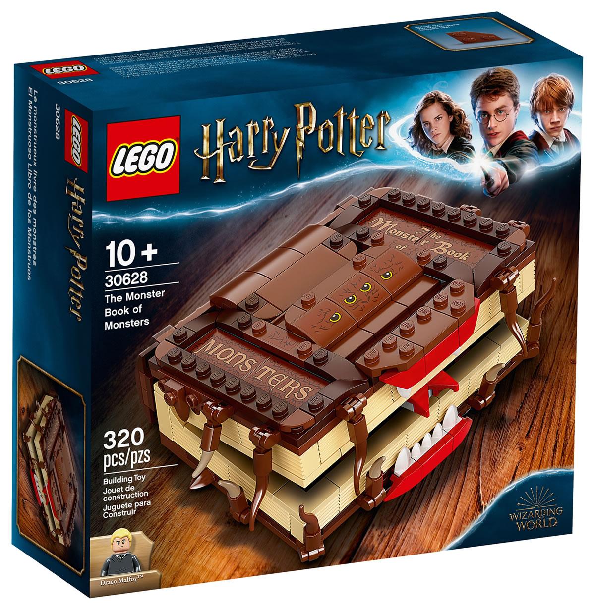 Lego Harry Potter 30628 Le monstrueux livre des monstres offert + Le Lego 40416 La patinoire