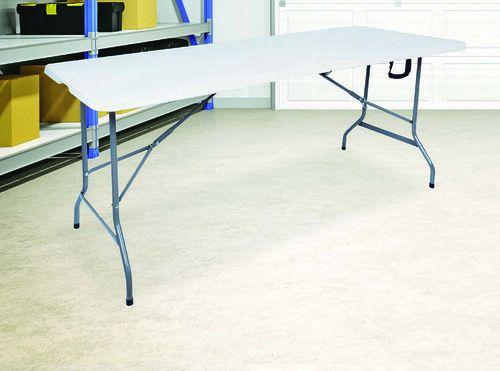 Table pliante en résine - 180x70x74cm, max200kg
