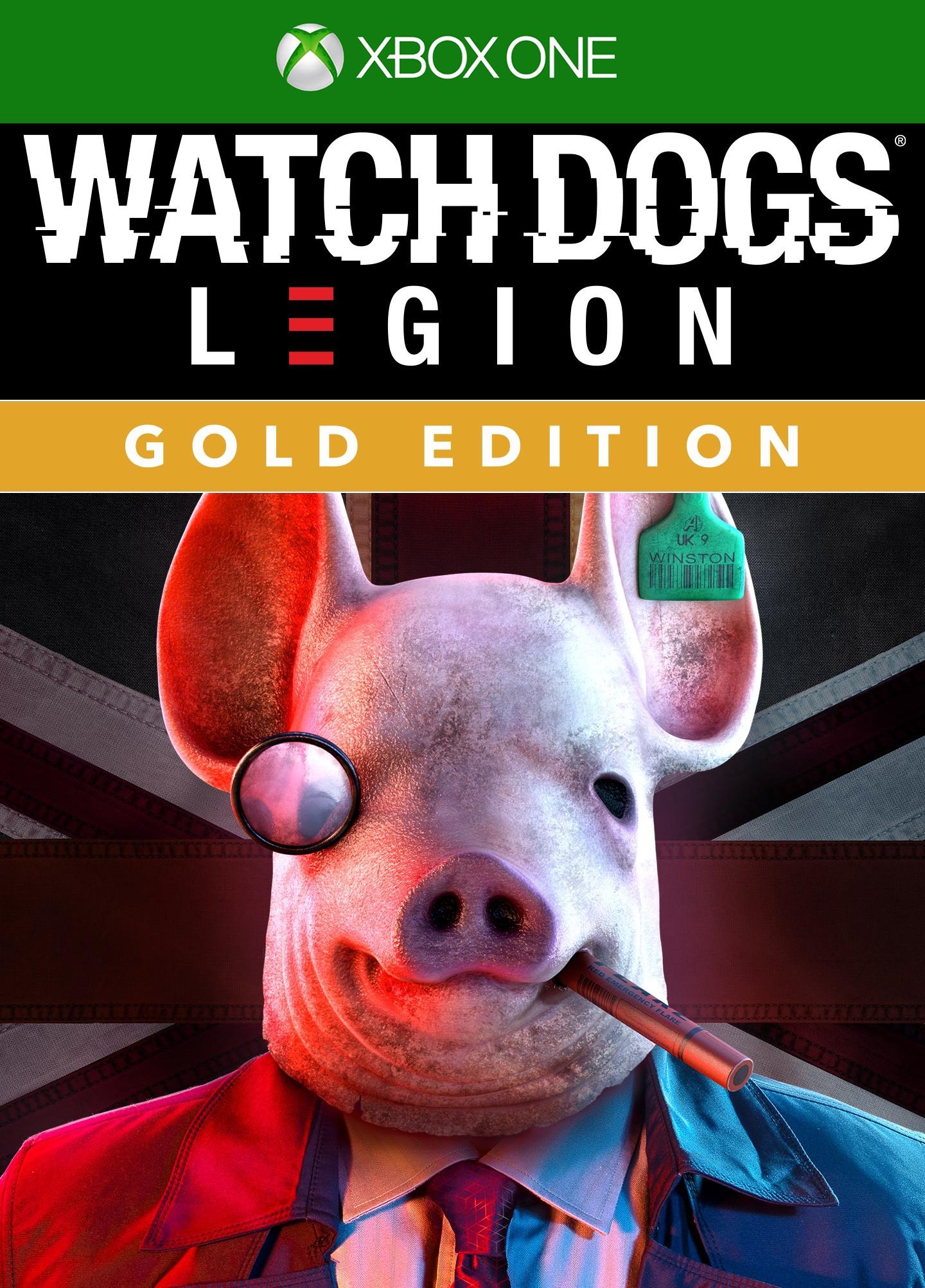 Watch Dogs Legion Gold Edition sur Xbox One (Dématérialisé)