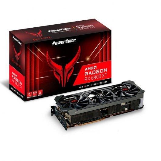 Carte Graphique Powercolor AMD Radeon RX 6800 XT Red Devil