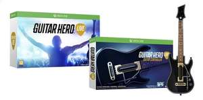 Guitar Hero Live incluant 2 guitares (XBOX One / PS4 )