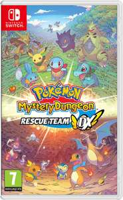 Sélection de jeux en promotion - Ex : Pokémon Donjon Mystère : Equipe de secours DX ou Animal Crossing : New Horizons sur Nintendo Switch