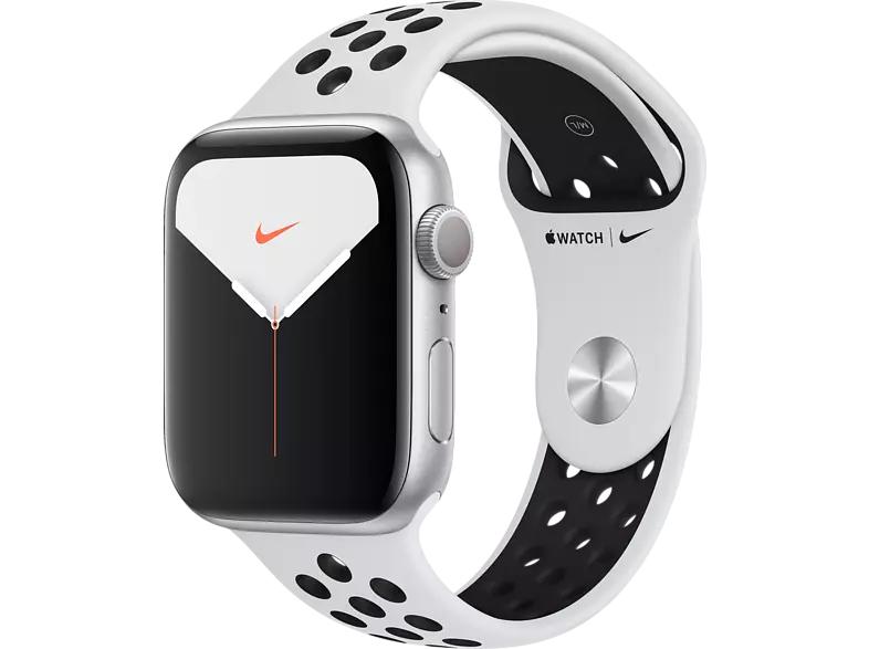Montre connectée Apple Watch Nike Series 5 GPS 44 mm, Boîtier en Aluminium avec Bracelet Sport Nike (Frontaliers Allemagne)