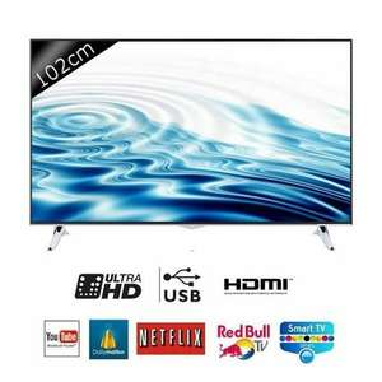 "Smart TV 40"" Continental Edison 40K0116B3 - UHD 4K, Classe A"