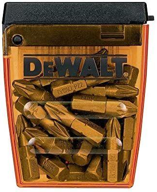 Coffret 25 embouts de vissage DeWalt DT71521-QZ - PZ2 25mm pour Perceuse-Visseuse