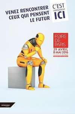 Entrée à la Foire de Paris (Du 29 Avril au 8 mai 2016)