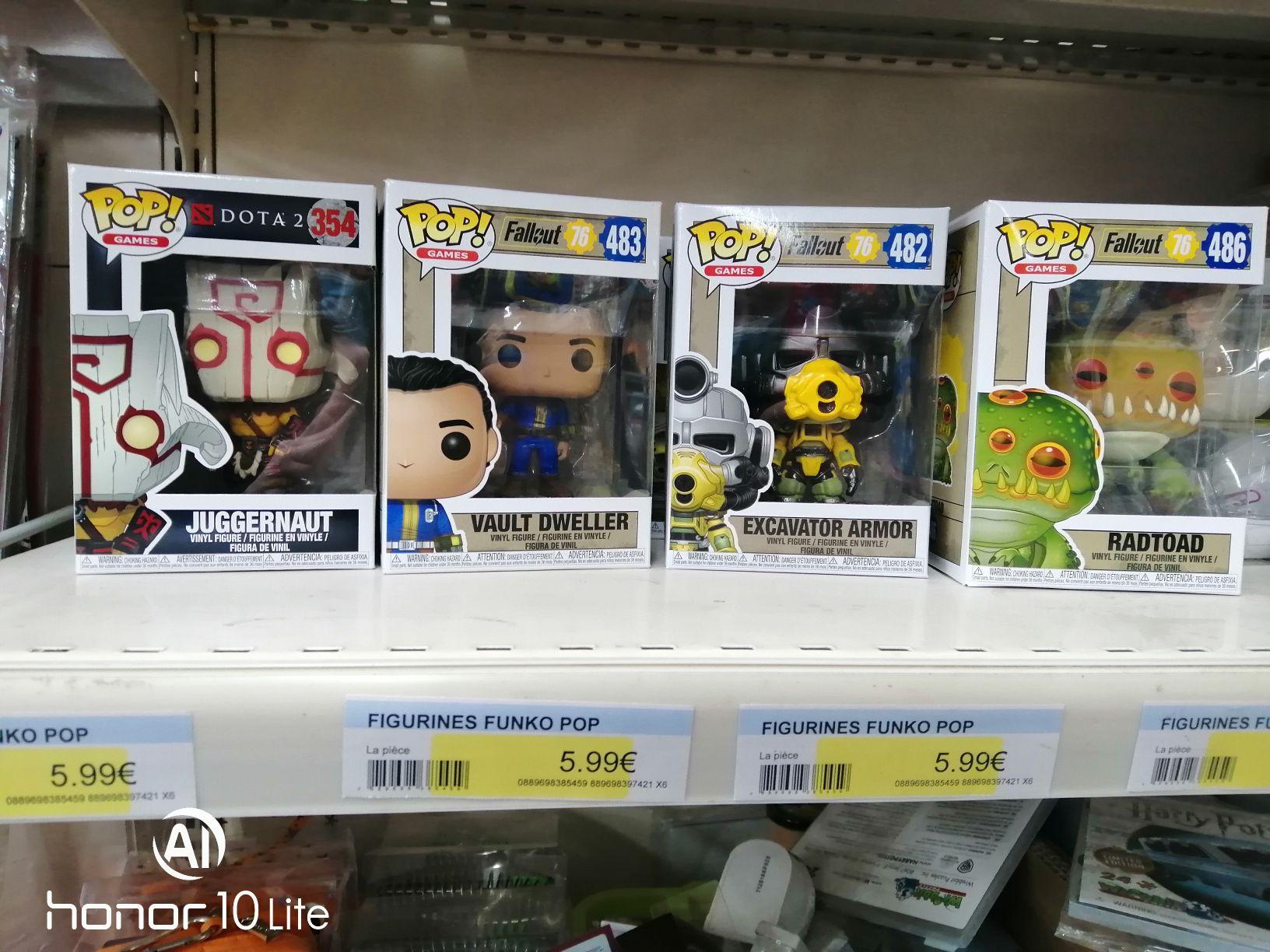 Sélection de Figurines Pop Fallout76 (ID stock - Capinghem 59)