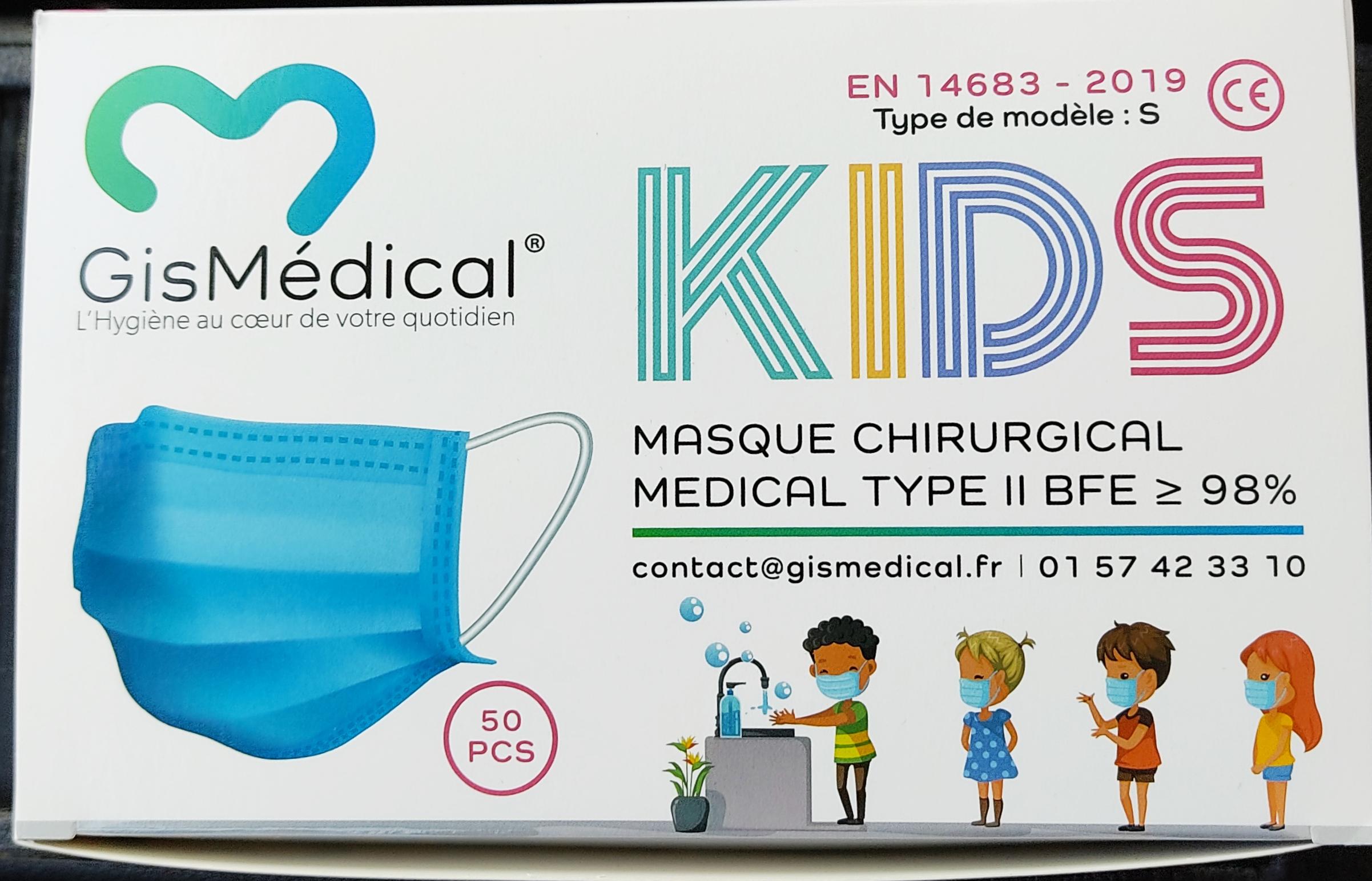 3 boîtes de masques non médicaux Enfant (3 x 50 masques) - L'As du Prix (Sainte-Geneviève-des-Bois 91)