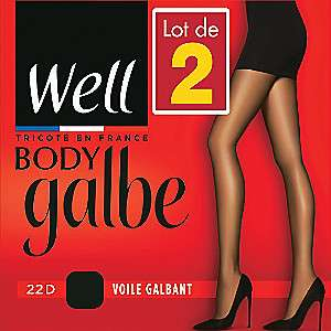 Lot de 2 collants Well Body Galbe