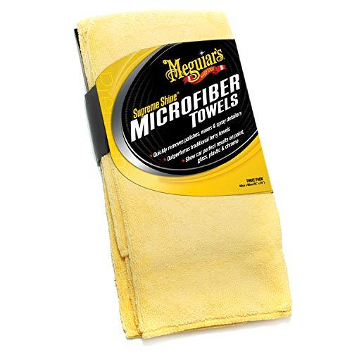 Lot de 3 chiffons microfibres Meguiar's ME X2020