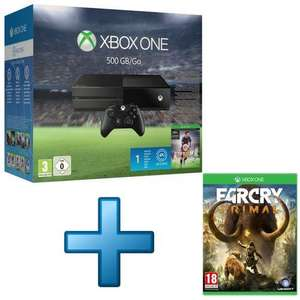 Pack Console Xbox One 500Go FIFA 16 + Far Cry Primal