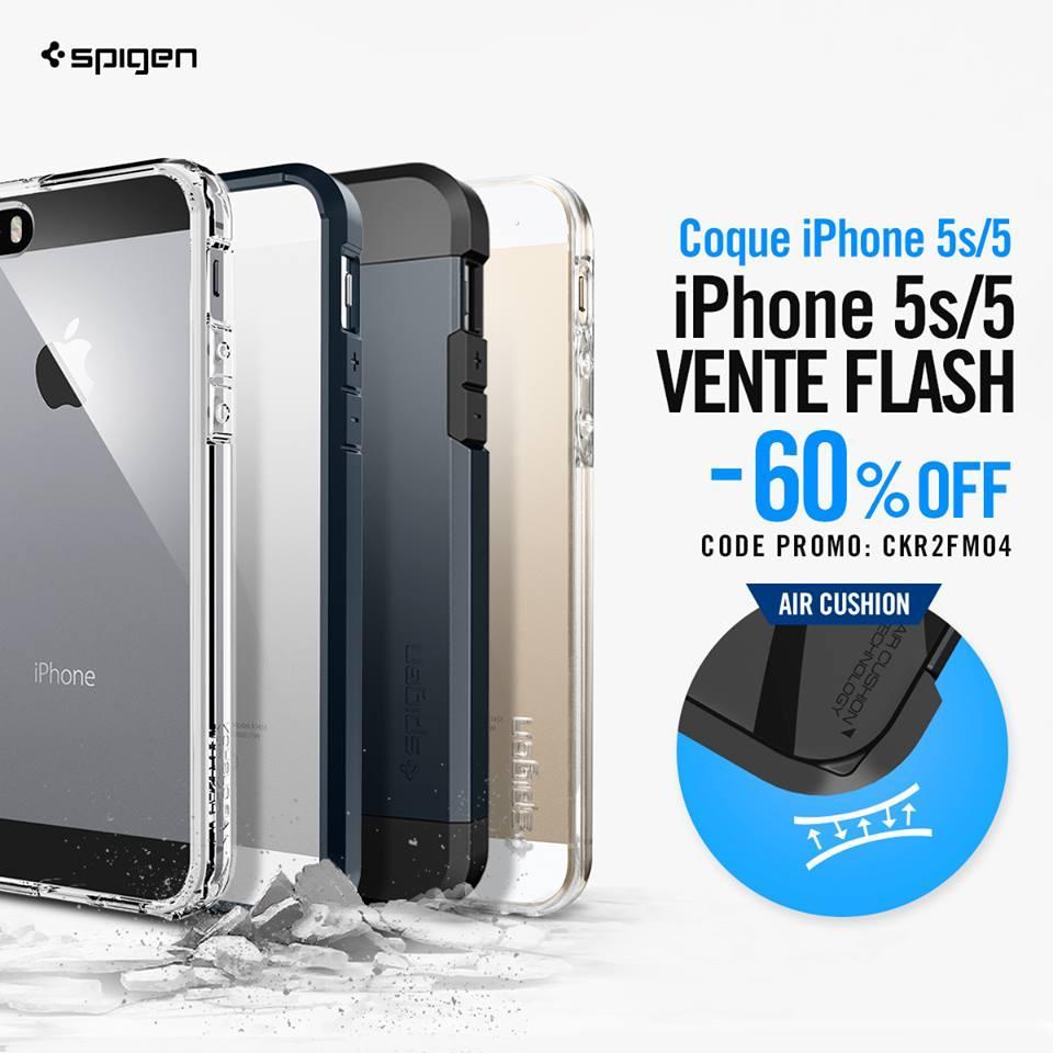 60% de réduction sur une sélection de coques iPhone 5S