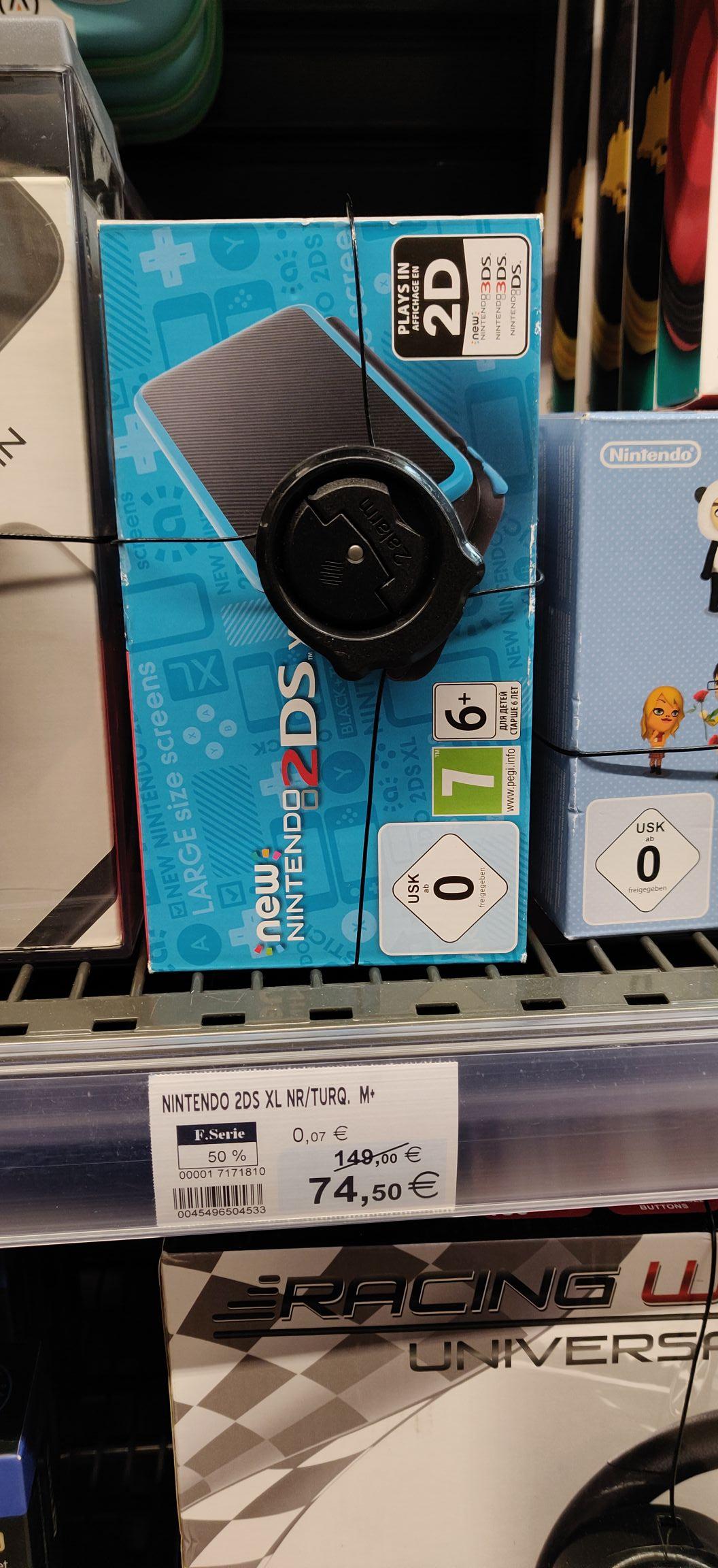Sélection de consoles en promotion - Ex : Console New Nintendo 2DS XL - Rose (Belz 56)