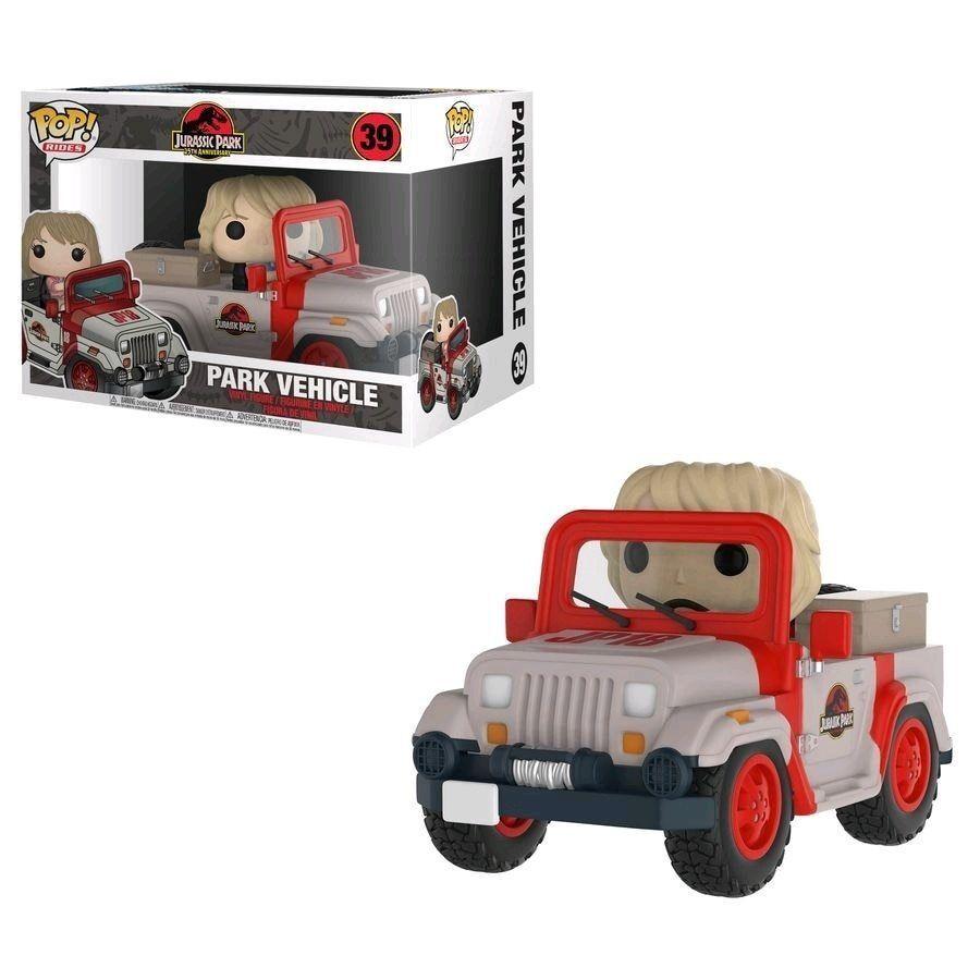 Figurine Funko Pop! N°39 - Jurassic Park Ride Jeep