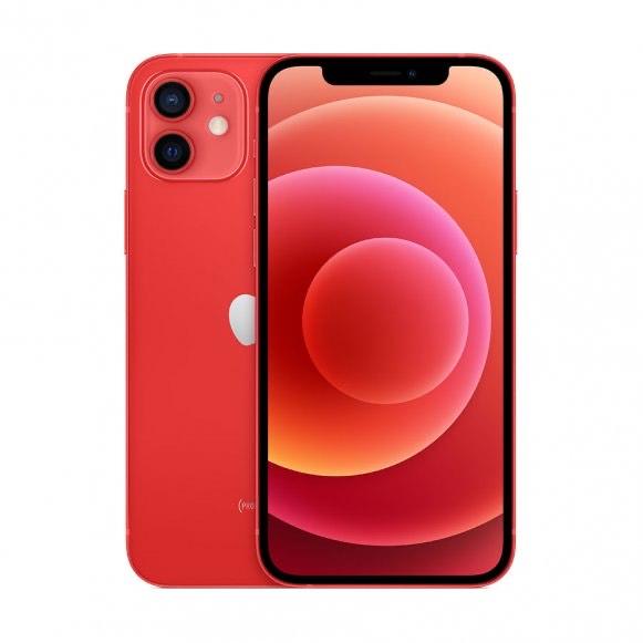 """Smartphone 6.1"""" Apple iPhone 12 - 4 Go de RAM, 128 Go, Rouge"""
