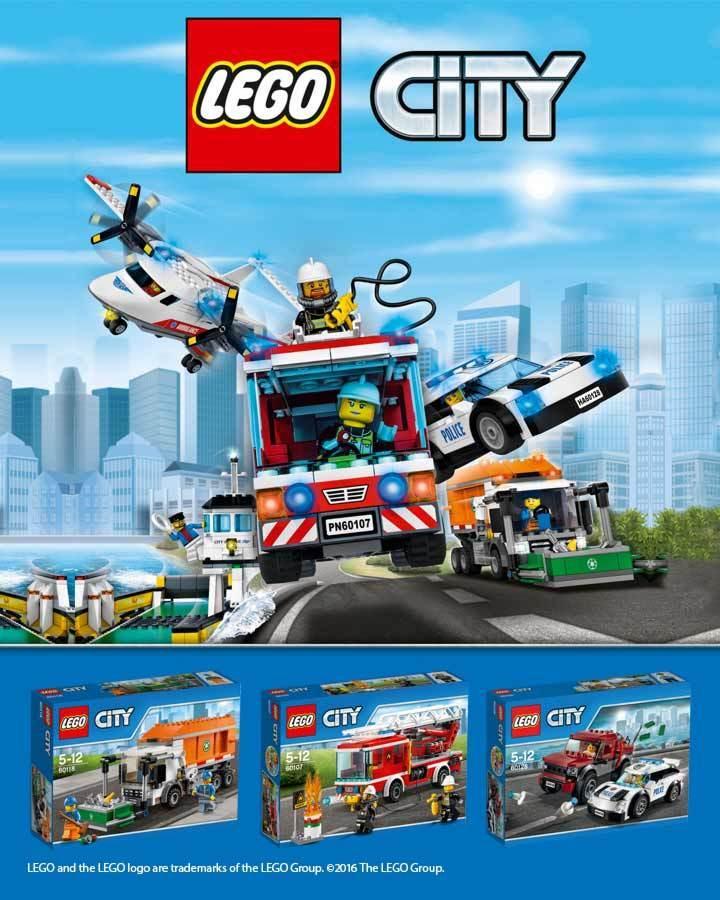 10€ de réduction dès 30€ d'achat sur les jouets Lego City