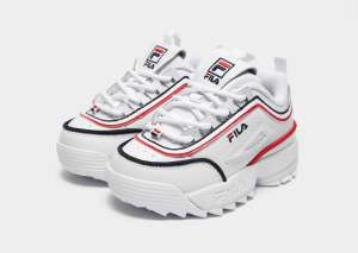 Paire de chaussures Fila Disruptor pour Fille - Tailles 25.5 ou 26.5