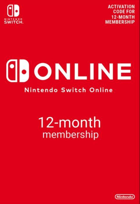 Abonnement d'un an au Nintendo Switch Online (dématérialisé)
