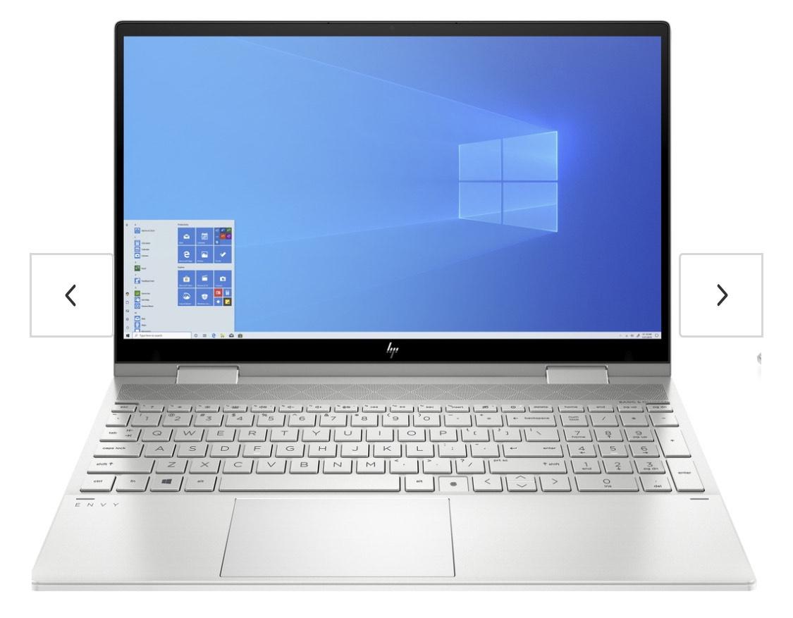"Tablette 15.6"" HP Envy x360 Convertible 15-ed0001nz - i5-1035G1, RAM 16 Go, 512 Go, Clavier QWERTZ"