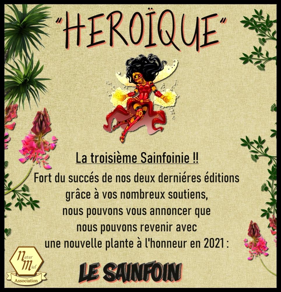 Sachet de Graines de Sainfoin offert contre envoi postal d'une enveloppe affranchie ou d'un don de 2€ (natur-miel.fr)