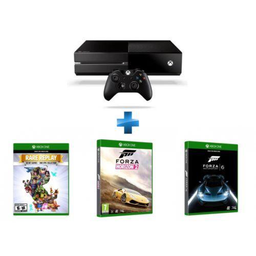 Pack Xbox One 500 Go + Forza 6 + Forza horizon 2 et Rare Replay